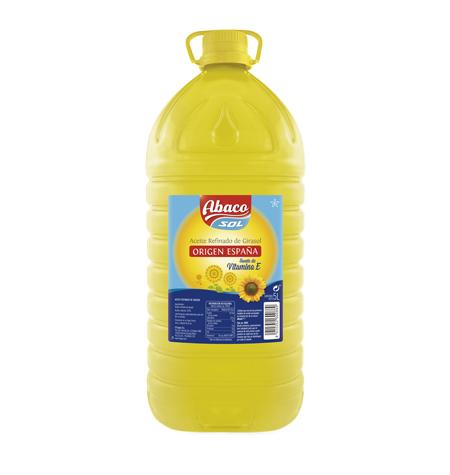 Aceite Girasol Garrafa 5L Abaco - Distribuidores Salamanca