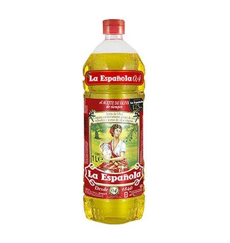 Aceite de Oliva Suave Pet 1Litro (La Española) Distribuidor en Salamanca
