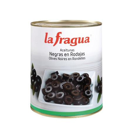 Aceituna Negra Laminada La Fragua Lata 3kg - Distribuidor en Salamanca