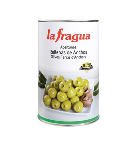 Aceituna Rellena de Anchoa La Fragua Lata 5kg - Distribuidor en Salamanca