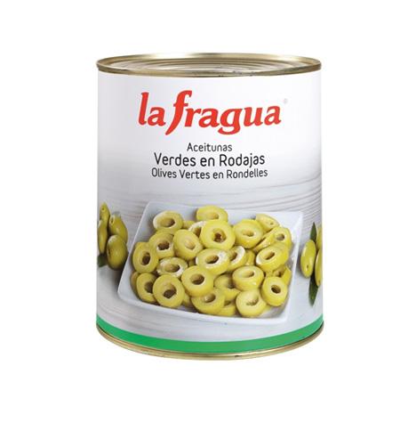 Aceituna Verde Laminada La Fragua LAta 3kg - Distribuidor en Salamanca