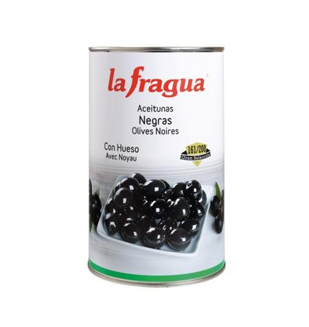 Aceituna negra entera la Fragua - Distribuidor en Salamanca