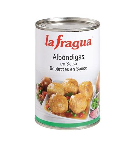 Albóndigas en salsa La Fragua lata 1/2 kg