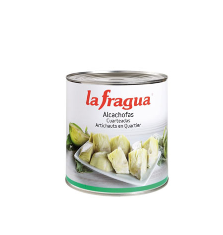 Alcachofas Cuartedas La fragua - Distribuidor en Salamanca