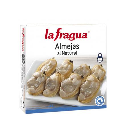 Almejas al Natural La Fragua Lata RO-120 - Distribuidor en Salamanca