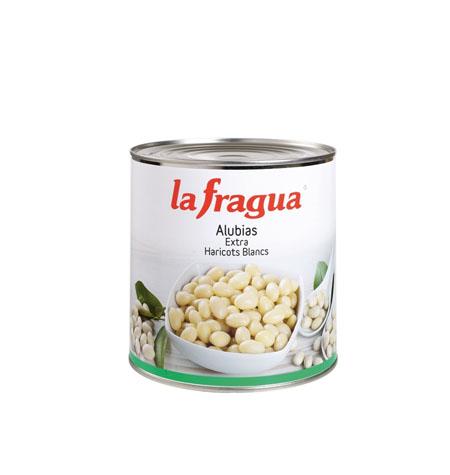 Alubias Blancas Extra Lata 3 kg La fragua - Distribuidor en Salamanca