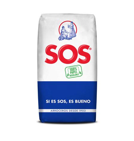 Arroz Redondo SOS 1Kg - Distribudor en Salamanca