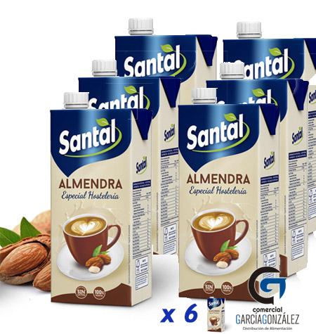 Bebida de Almendras Santal Pack 6 x 1Litro