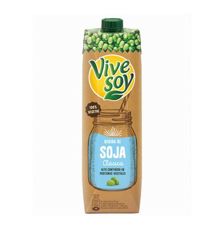 Bebida de Soja ViveSoy 1Litro - Distribuidor en Salamanca