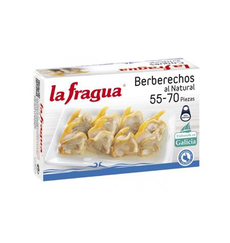 Berberechos 65-75 al Natural La Fragua Lata OL-120 - Distribuidor en Salamanca