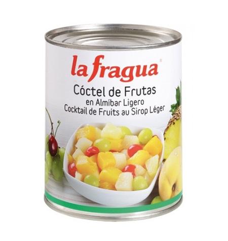 Cóctel 5 Frutas en Almíbar Ligero I Lata 1 kg