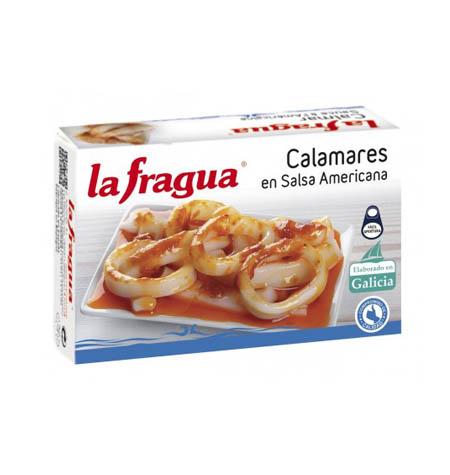 Calamares en Salsa Americana Lata OL-120 - Distribuidor en Salamanca