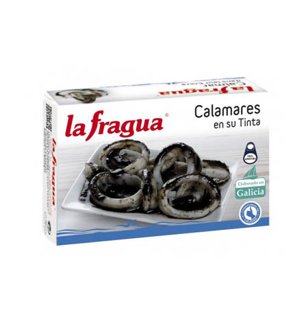 Calamares en su Tinta Lata OL-120 - Distribuidor en Salamanca