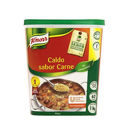 Caldo Sabor Carne en Polvo Knorr 1kg - Distribuidor en Salamanca