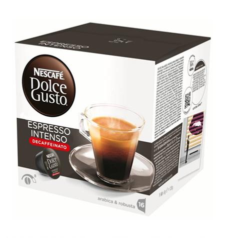 Capsulas Dolce Gusto Espresso Descafeinado Pack 16 uds