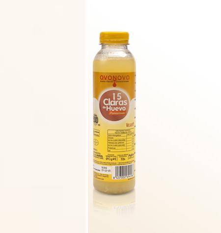 Claras Líquidas Ovonovo Botella 1 Litro