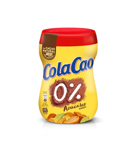 ColaCao 0% azucares añadidos bote 300 gr