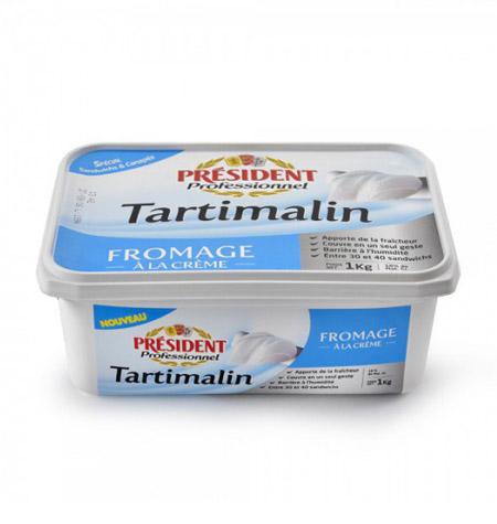 Crema de Queso Tartimalin President Tarriba 1kg - Distribuidor en Salamanca