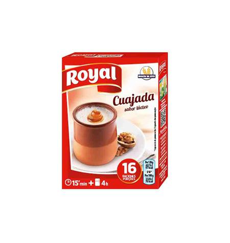 Cuajada Royal 4 Sobres - Distribuidor en Salamanca