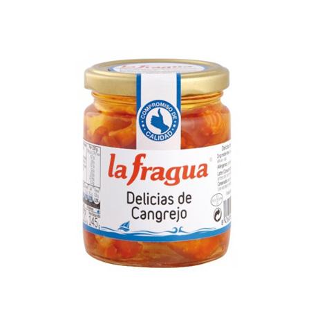 Delicias de Cangrejo en Aceite La Fragua Tarro-250 - Distribuidor en Salamanca