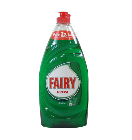 Fairy Lavavajillas manual 820 ml