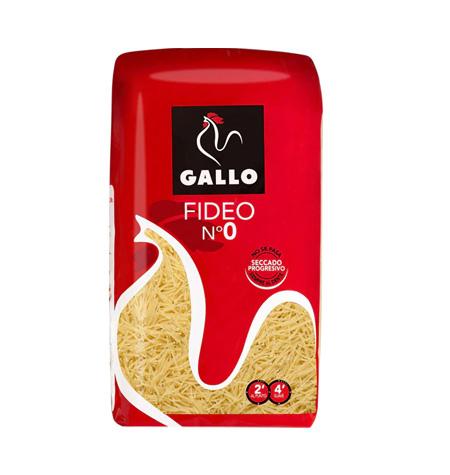 Fideo nº0 Pasta Gallo 500gr