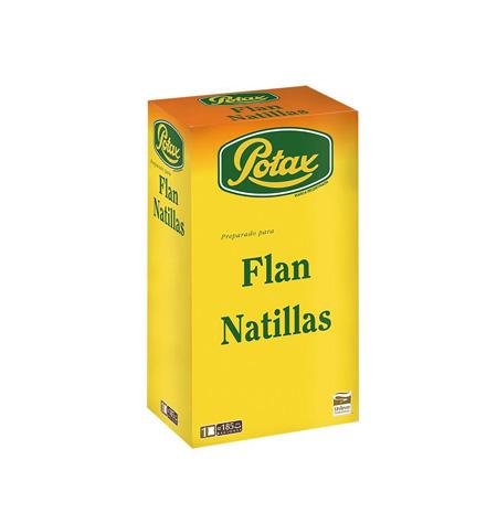 Flan Natillas Potax 1 kg - Distribuidor en Salamanca
