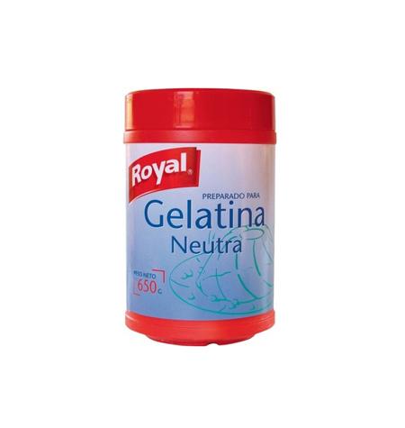Gelatina Neutra Royal 650 gr - Distribuidor en Salamanca