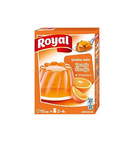 Gelatina de Naranja Royal 1Kg - Distribuidor en Salamanca