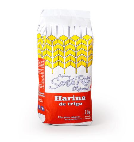 Harina trigo Santa Rita 1 kg - Distribuidor en Salamanca