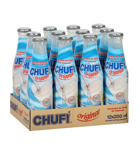 Horchata Chufi 200ml caja 12 unidades