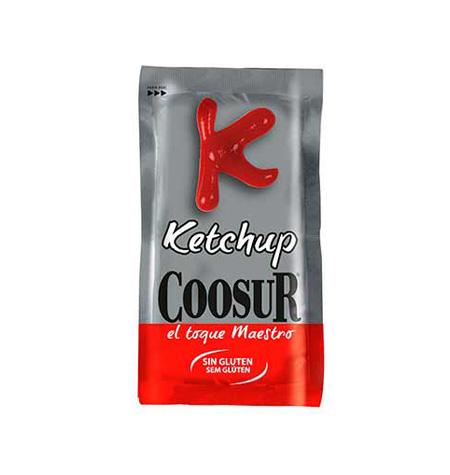 Ketchup COOSUR monodosis 250 und - Distribuidor en Salamanca