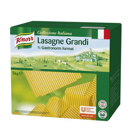 Lasaña Industrial Knorr 5kg - Distribuidor en Salamanca