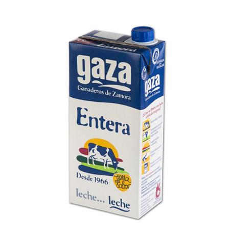 Leche Gaza Brik 1Litro - Distribuidor en Salamanca