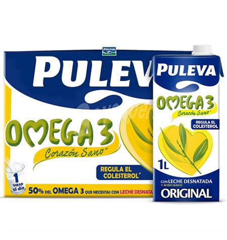 Puleva Omega 3 Brik 1 Litro caja 6 uds