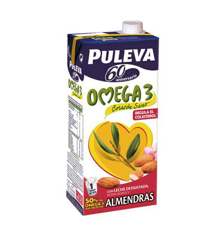 Leche Puleva Omega 3 con Almendras - Distribuidor en Salamanca