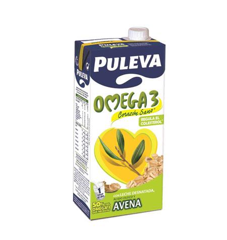 Leche Puleva Omega 3 con Avena - Distribuidor en Salamanca