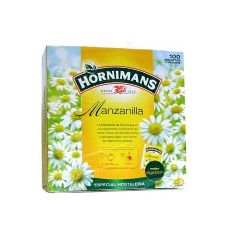 Manzanilla Hornimans 100 Unds - Distribuidor en Salamanca
