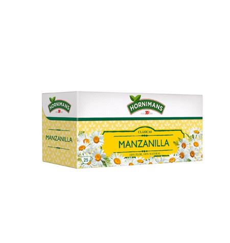 Manzanilla Hornimans Estuche individual 25 Unds - Distribuidor en Salamanca