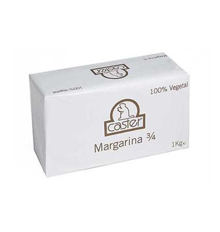 Margarina Caster Bloque 1 Kg - Distribuidor en Salamanca