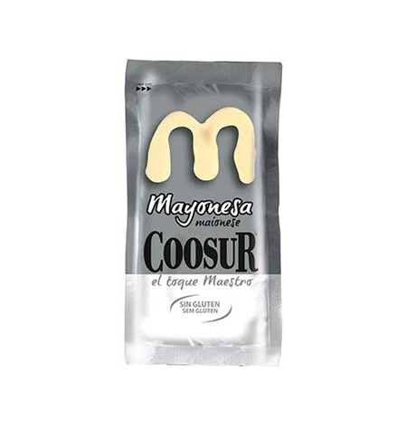 Mayonesa COOSUR monodosis 250 und - Distribuidor en Salamanca