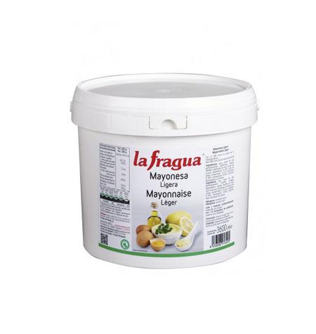 Mayonesa Cubo La Fragua 3,6 kg - Distribuidor en Salamanca