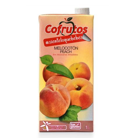 Néctar Sin Azúcar Melocotón Brik 1Litro