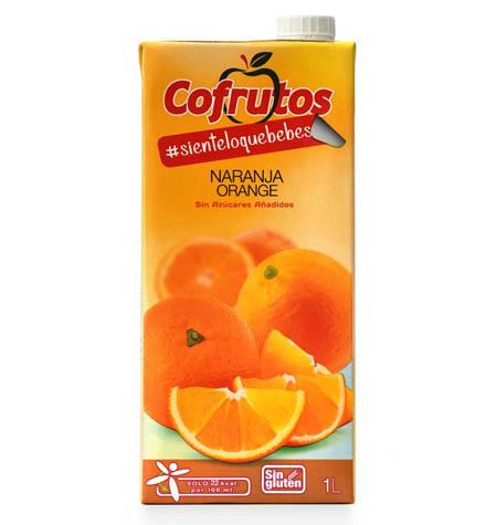 Néctar Sin Azúcar Naranja 1L Brik