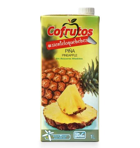 Néctar Sin Azúcar Piña Brik 1Litro