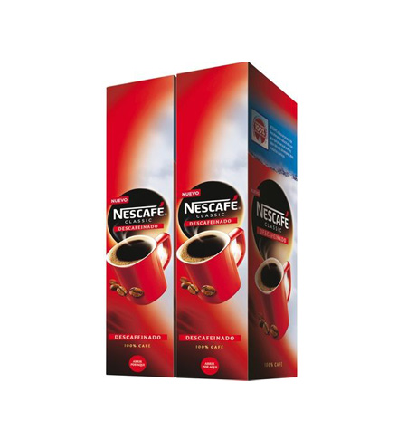 Nescafé Descafeinado 100 Sobres - Distribuidor en Salamanca