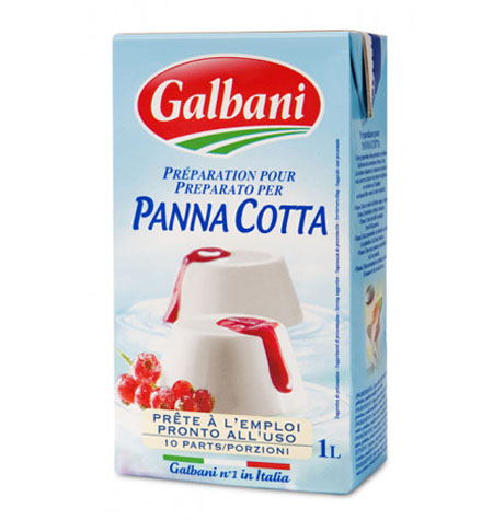 Preparado para PANNA COTTA Galbani - 1Litro