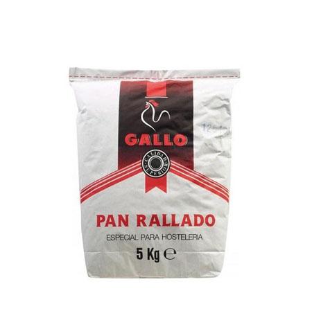 Pan Rallado Gallo saco 5 kg - Distribuidor en Salamanca