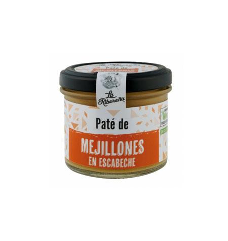 Pate de Mejillones en Escabeche La Ribereña - Distribuidor en Salamanca