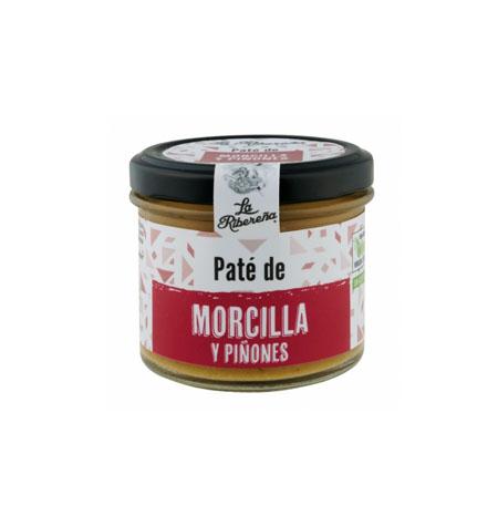 Pate de Morcilla y Piñones La Ribereña - Distribuidor en Salamanca